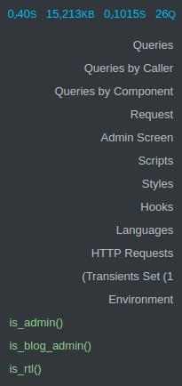 افزونه Query Monitor وردپرس