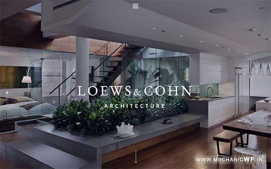 27 قالب برتر معماری در وردپرس