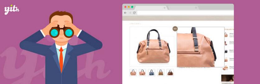 ایجاد قابلیت بزرگنمایی روی تصاویر محصولات در ووکامرس