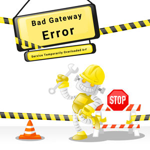خطای ۵۰۲ Bad Gateway در سایت