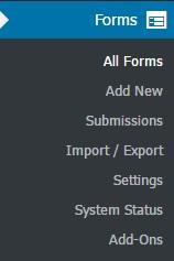 افزونهNinja Forms وردپرس