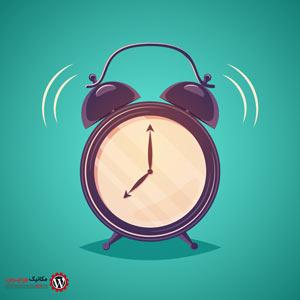 نمایش inverse time در ارسال مطلب یا نظر در وردپرس