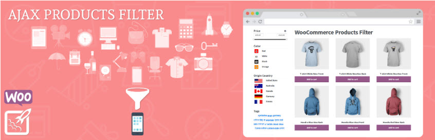 افزونه Advanced AJAX Product Filters ووکامرس