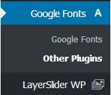 افزونهWP Google Fonts وردپرس