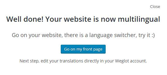 افزونهWeglot Translate وردپرس