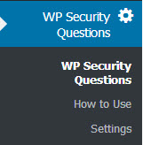 افزونه WP Security Question وردپرس
