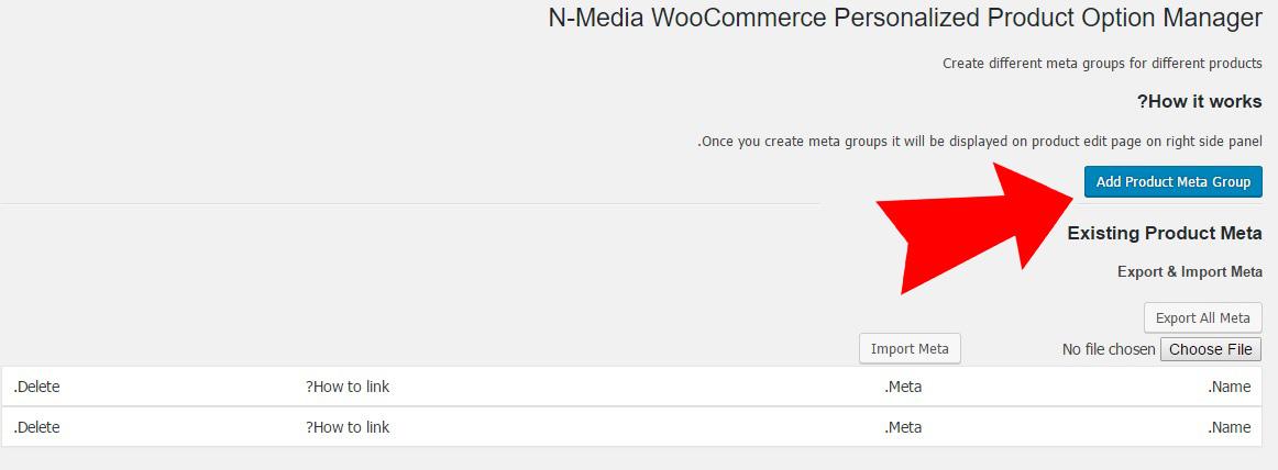 افزونه WooCommerce Extra Fields