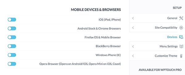 ساخت نسخه موبایل در وردپرس
