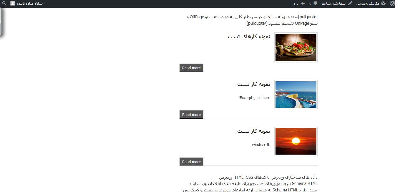 نمایش نمونه کارها در وردپرس با Portfolio by BestWebSoft
