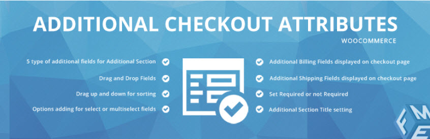 افزونه Woocommerce Checkout Field Editor, Custom Checkout Manager