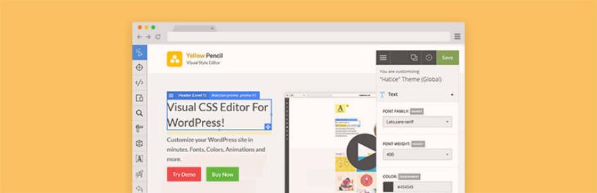 افزونهVisual CSS Style Editor وردپرس