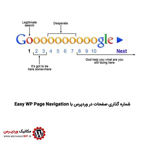 شماره گذاری صفحات در وردپرس با Easy WP Page Navigation